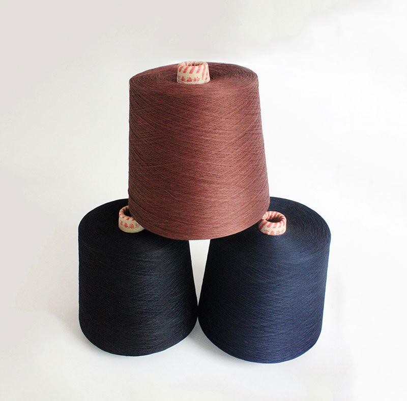 120支绢丝亚麻混纺纱