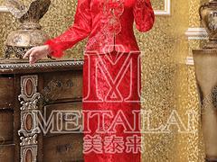 手工礼服订制——专业的旗袍供应商当属成都美泰来服饰