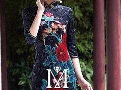 时尚婚服订制成都美泰来服饰供应新款旗袍