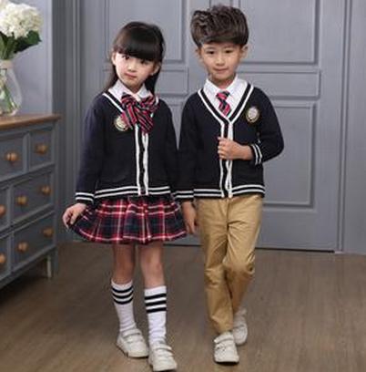 中小学生校服毛衣加工厂