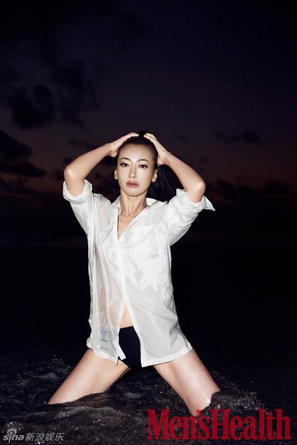 陈紫函印尼海滩写真展比基尼诱惑