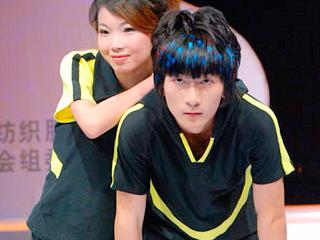 2008第十四届上海国际服装文化节泉州纺服学院2008毕业生作品展