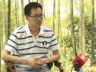 专访安徽海飞鹤服饰有限公司总经理王金付 摄像:向佳 后期:向佳