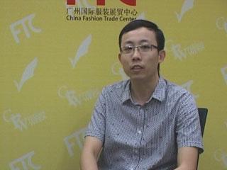 直播2012广东时装周•专访广州市能胜实业有限公司副总裁陈晓佳先生