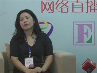 直播 2012中国国际丝博会女装展 Gamin international女装 社长兼设计师 宋贤淑