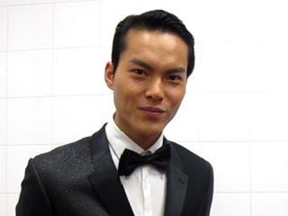 中国首席男模傅正刚新年祝福