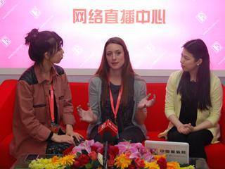 直播2013CHIC?专访青岛耀杰时装有限公司设计总监米娅