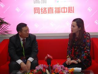 直播2013CHIC?专访恒远嘉舜(北京)经贸有限公司市场总监董剑明