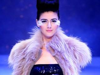 2013中国裘皮·皮革时尚周圣尼时装专场发布会