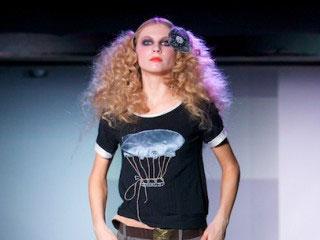 俄罗斯欧亚时装周设计师Feya Derevyashkina 2009春夏作品发布