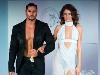 俄罗斯欧亚时装周设计师Tatyana Samatova 2009春夏作品发布