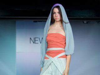 俄罗斯欧亚时装周设计师Mariya Puhova 2009春夏作品发布