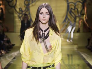 视频:Versace范思哲2014春夏女装系列