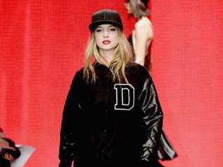 视频:DKNY2014秋冬女装纽约时装周发布