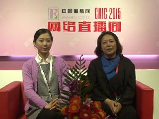 2015上海CHIC专访伊卓服装有限公司总经理陈卓