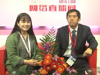 2015上海CHIC专访宝丽青贸易(上海)有限公司市场营销总监洪添图