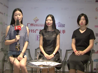 2015广东时装周秋季专访四方街运营总监suey,WENYING