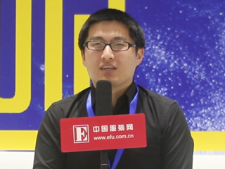 2015CHIC秋季专访绍兴璐卡丝鞋业有限公司胡涛