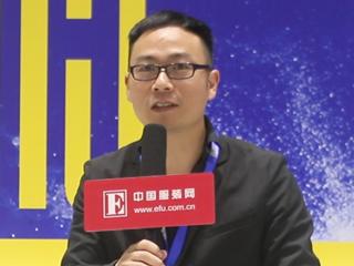 2015CHIC秋季专访浙江巴鲁特服饰股份有限公司线下市场总监叶勇真