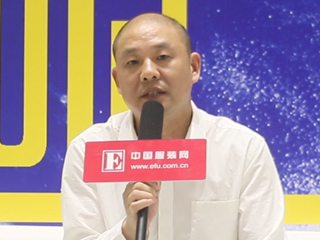2015CHIC秋季专访绍兴华通色纺有限公司董事长季国苗