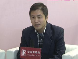 2016中国国际纺织面料及辅料(春夏)博览会采访天一纺织有限公司市场部经理金卫