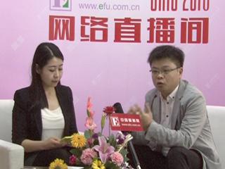 2016CHIC直播采访瞻妍服饰(北京)有限公司品牌总监唐勇