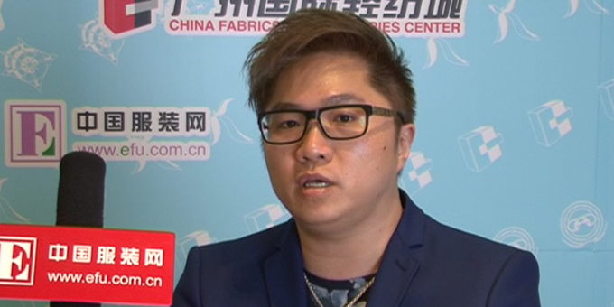 [2016广东大学生时装周]Zimple品牌创始人广东十佳设计师阮志雄