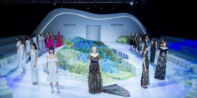 直播回放|时尚新坐标,SOMSOM2018夏季新品发布秀如临仙境