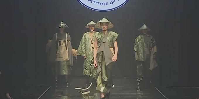 2018江南国际时装周:常熟理工发布秀