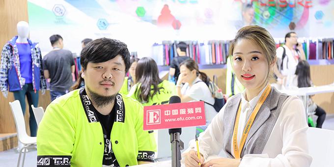 2018秋冬面辅料展:专访大冠(上海)紡織有限公司協理林宗翰