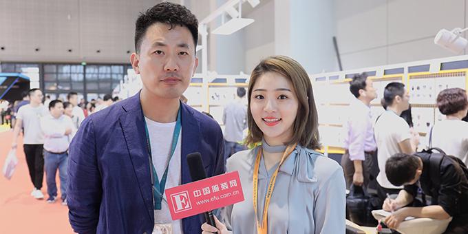 2018秋冬面辅料展:专访上海超易服装辅料有限公司总经理卢伟