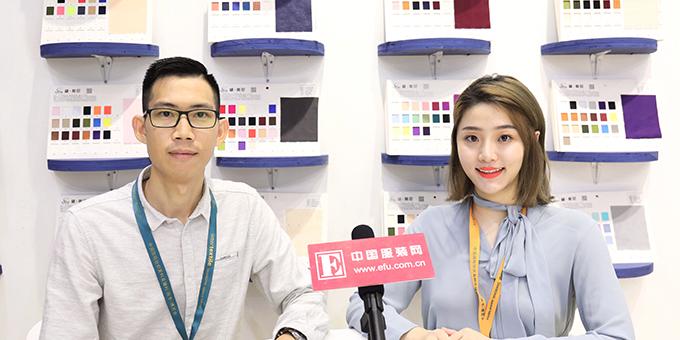 2018秋冬面辅料展:专访广州维斯尼纺织科技有限公司总经理谢涛