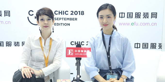 CHIC2018秋季展:意大利对外贸易委员会上海代表处  Micaela Soldini专访