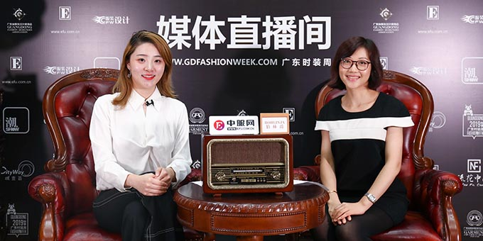 专访广州白马服装市场副总经理刘洁