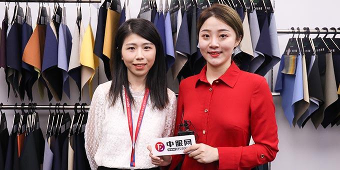 2019面辅料展:专访石狮市英纶纺织品贸易有限公司施绵绵
