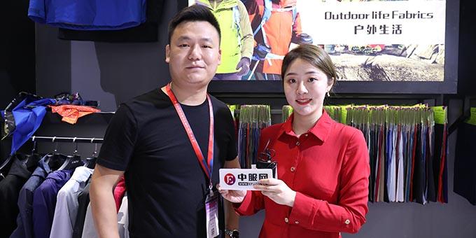 2019面辅料展:专访昆山华阳新材料股份有限公司陈家平