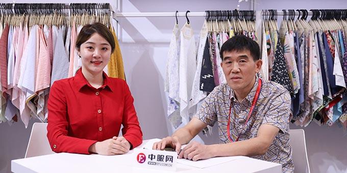 2019面辅料展:专访绍兴汇帛行纺织品有限公司包西胜