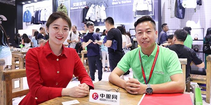 2019面辅料展:专访南通东屹高新纤维科技有限公司张成寿