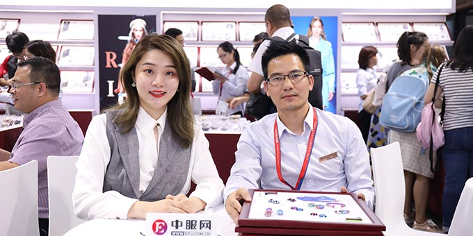 2019面辅料展:专访东莞市盈丰钮扣有限公司总经理李帅杰