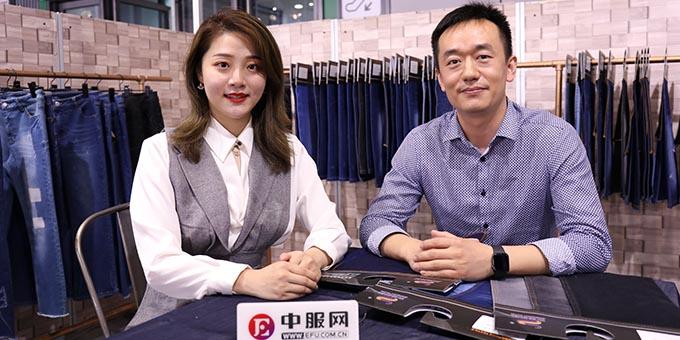 2019面辅料展:专访常州双周纺织有限公司沈照平
