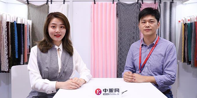 2019面辅料展:专访常州立达针织厂柯科