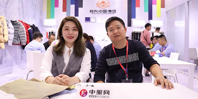 2019面辅料展:专访向兴(中国)集团杜国海