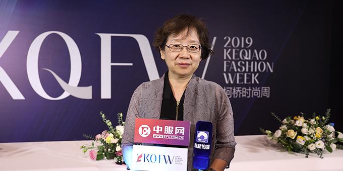 2019柯桥时尚周:专访中国纺织信息中心主任 乔艳津