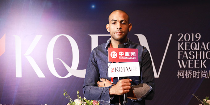 2019柯桥时尚周:专访Yoxeone品牌主设计师 Selim GOUANED
