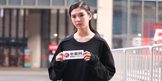 2019面辅料展:专访新锐模特经莹