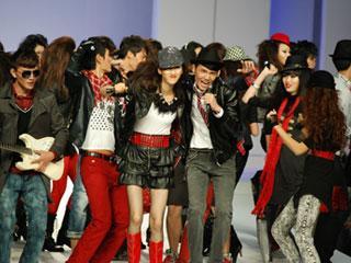 第十四届中国(虎门)国际服装交易会·Vintage Rock复古摇滚·以纯2010春夏时装发布