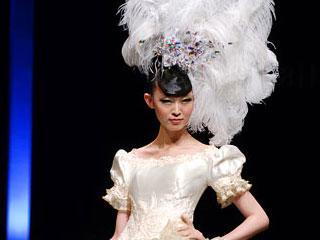 中国国际时装周2010春夏系列·蔡美月2010春夏婚纱作品发布会